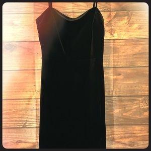 Express XS velvety dress w/ sexy yet classy slit